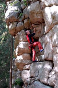Klettern im Steinwald